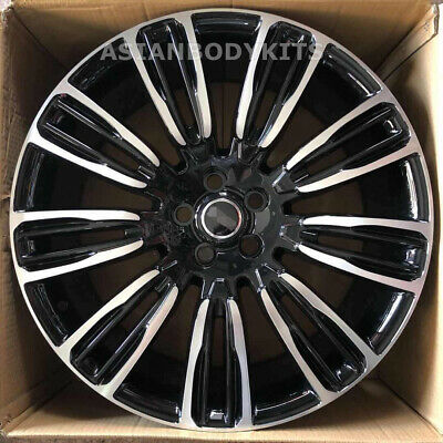 "22"" Inch Wheels Rims ""9007"" Style Fit Range Rover Velar 22x9.5 5x108 2017+"