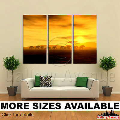 3 Panel Canvas Picture Print - The Walking Tour 3.2