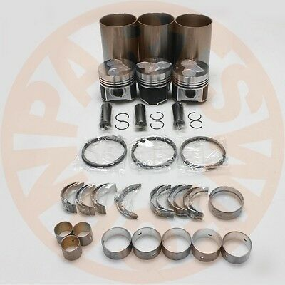 Kubota D1503 Engine Rebuild Overhaul Kit & Cylinder Head For Kx91-3 U35 R420
