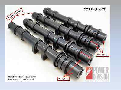 Gsc Power 7025s2 - Billet S2 Camshaft Set For Subaru Ej255/7 With Intake Avcs