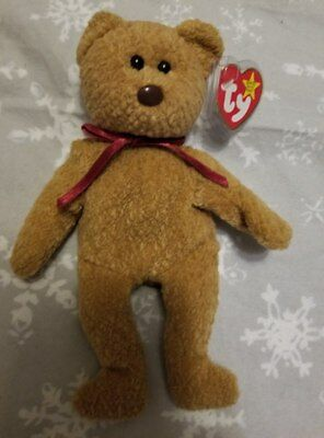 ty beanie babies very rare retired curly bear unique collectible