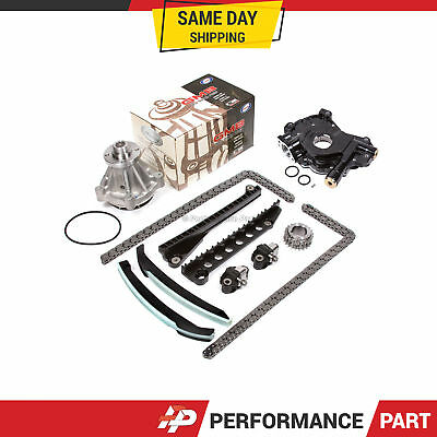 Timing Chain Kit Water Oil Pump For 07-08 Ford F150 F250 Triton 5.4 3-valve