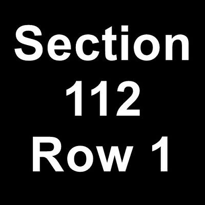 2 tickets paramore and foster the people 7/18/18 inglewood, ca