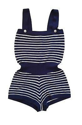 New Chanel Runway Sexy Cashmere Romper Jumpsuit Fr 36 So Cute Sold Out!