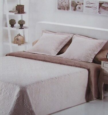 "Bedspread Bed Cover Throw "" Alma "" With 2 Pillow Shams"