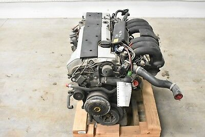 94-97 Mercedes R129 Sl320 6 Cylinder 3.2l Engine Block Motor Assembly Oem