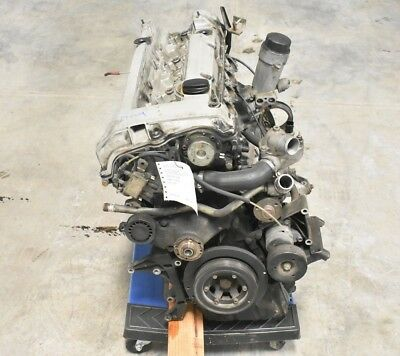 94-97 Mercedes Sl320 3.2l 6 Cylinder Engine Block Motor Assembly Oem R129