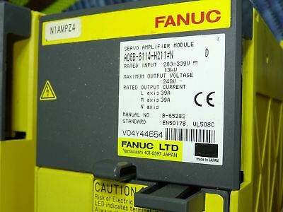 Fanuc A06b-6114-h211 #n Ver.d -- In Very Good Condition _ Invoice _ Art.314