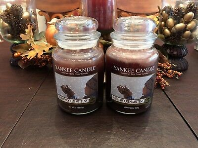 Yankee Candle Warm Woolen Mittens -my Favorite Things Collection (2) Large Jars