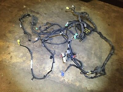 02 03 04 Honda Cr-v Engine Bay Wire Wiring Hanress  Oem D32 For Parts