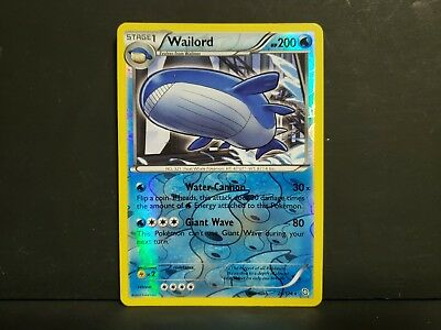 Wailord - 26/124 - Holo Rare NM/ Near Mint - Pokemon Dragons Exalted