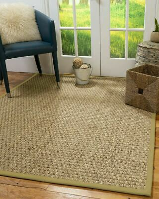 Optimum Large Seagrass Non-slip Skid Resistant Area Throw Rug Carpet