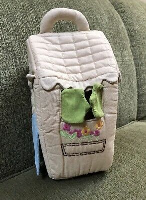 Pottery Barn Kids  Soft Fabric Cloth Dollhouse Without People