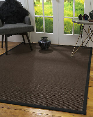 Alma Sisal Large Modern Non-slip Skid Resistant Area Throw Rug Carpet