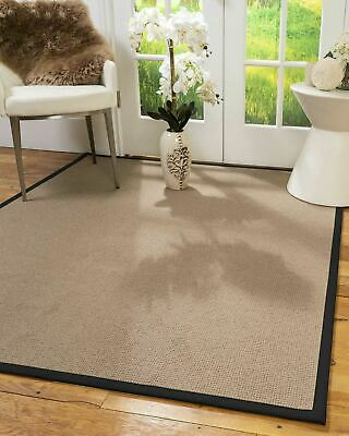 Sabina Wool Large Modern Non-slip Skid Resistant Area Throw Rug Carpet