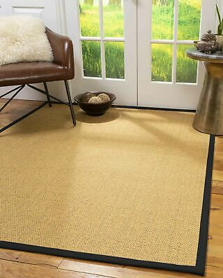 Niagara Sisal Large Modern Non-slip Skid Resistant Area Throw Rug Carpet