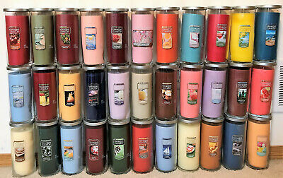 Yankee Candle *20 Oz. Large Perfect Pillar Candles* You Choose Scent!