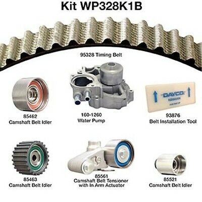 Dayco Wp328k1b Engine Timing Belt Kit With Water Pump