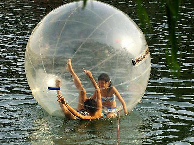 Hot 2m Water Walking Roll Ball / Ball / Inflatable Zorb Ball Soccer Bubble Pvc