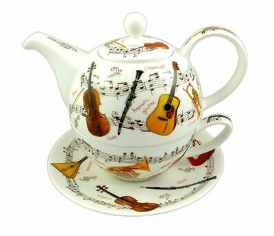 Musical Instrumental Tea 4 One By Dunoon - Music Gift - Chinaware For Musicians