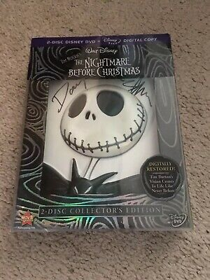 The Nightmare Before Christmas (dvd, Collectors Edition) Signed Danny Elfman New
