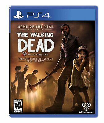 The Walking Dead The Complete First Season +400 Days Sony Ps4 Playstation 4 Game