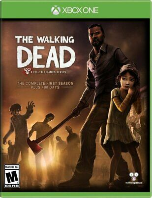 The Walking Dead The Complete First Season +400 Days Microsoft Xbox One Game Xb1