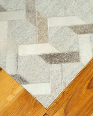 Natural Area Rugs Markham Multi-color Leather Cowhide Area Throw Rug Carpet