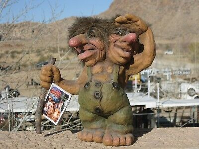 Authentic Nyform 2 Headed Troll Hand Made In Norway