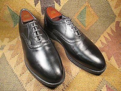 Red Wings Dunoon Black Leather Saddle Oxfords Size  10.5d