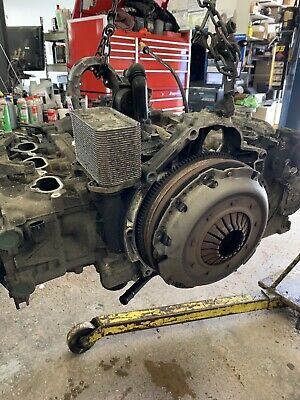 Porsche 3.6l Engine Assembly, 02 911 Heads, Cams, Etc Good. Block/piston Damage