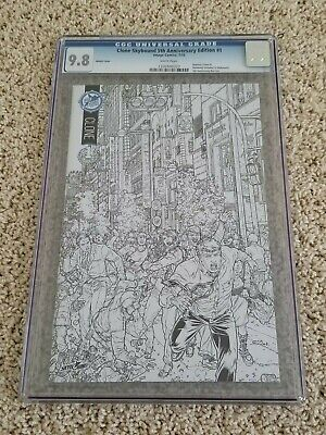 Clone #1 Skybound 5th Anniversary Sketch Variant Cgc 9.8