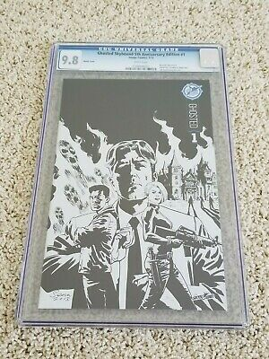 Ghosted #1 Cgc 9.8 Skybound 5th Anniversary Sketch Edition Variant | Sdcc
