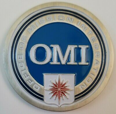 Vhtf Cia Directorate Of Support Omi Office Of Mission Integration Challenge Coin