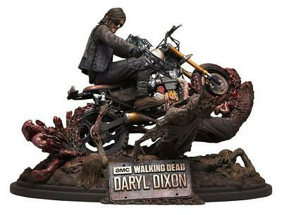 The Walking Dead Daryl Dixon On Motorcycle Limited Edition Resin Statue