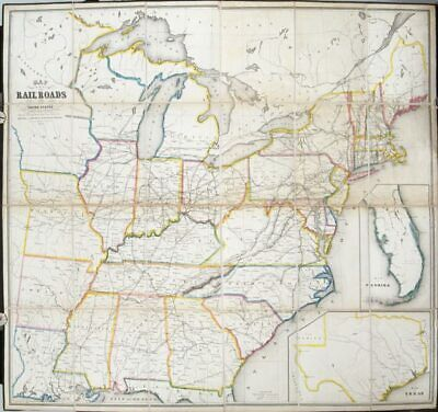 Railroad Map United States / Map Of All The Rail Roads In The United States