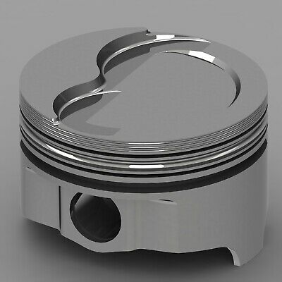 Icon Forged Piston Set - Olds 455 Rod 6.735 Step Dish 25cc 2v