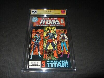 Tales Of The Teen Titans 44 Cgc 9.4 S.s. Decarlo & Wolfman,1st Nightwing Dc 1984