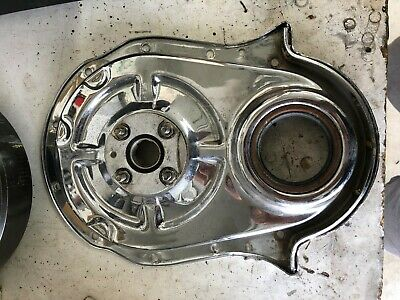 Bbc Timing Chain Cover With Cam Drive Chrome