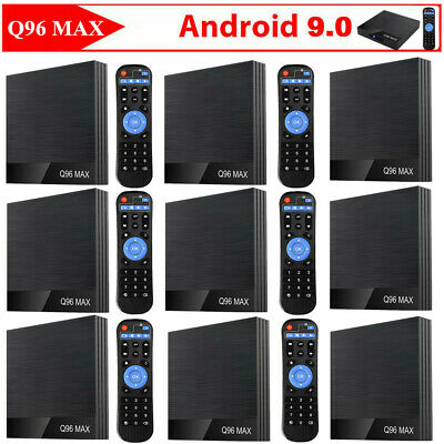 Q96 Max Android9.0 Tv Box Allwinner H6 Tv Box 4-core 4+32gb+keyboard Lot X3w7