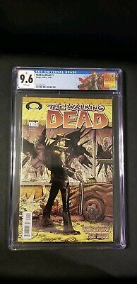 Walking Dead #1 Cgc 9.6 1st Appearance Of Rick Grimes New Cgc Label