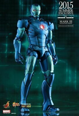 Hot Toys 1/6 Marvel Iron Man Mark 3 Iii Stealth 2015 Summer Exclusive Figure