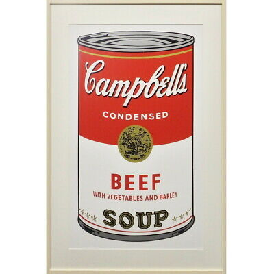 Otara And Art Gallery Andy Warhol Campbell Soup Beef Still Life Canning