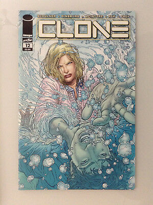 Clone#12 1st Print Nm High Grade 9.8 + If Cgc New Image Comics Skybound Ryp Tv 1