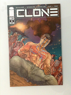 Clone#8 1st Print Nm High Grade 9.8 + If Cgc New Image Comics Skybound Ryp Tv 1