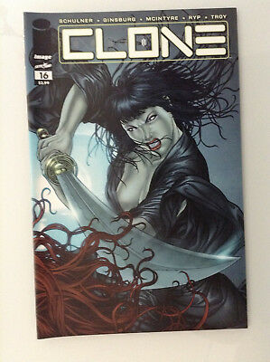 Clone#16 1st Print Nm High Grade 9.8 + If Cgc New Image Comics Skybound Ryp Tv 1