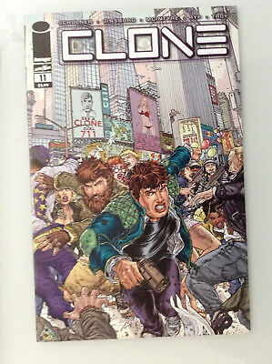 Clone#11 1st Print Nm High Grade 9.8 + If Cgc New Image Comics Skybound Ryp Tv 1