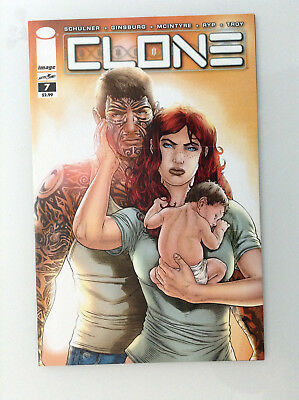 Clone#7 1st Print Nm High Grade 9.8 + If Cgc New Image Comics Skybound Ryp Tv 1