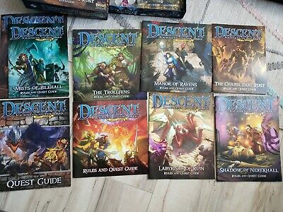 Descent: Journeys In The Dark 2nd Edition Collection 75+ Painted Miniatures