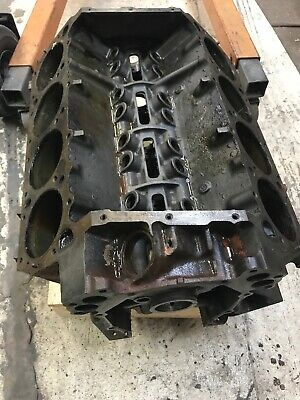 1969 Mopar 383 Hp Bare Engine Block Dated 10-8-1968 Dodge Plymouth Std Bore